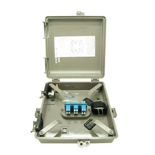 Outdoor Fiber Distribution Box 6 Simplex SC SM 6 Fiber