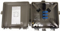 Outdoor Fiber Distribution Box 6 Duplex LC SM APC 12 Fiber