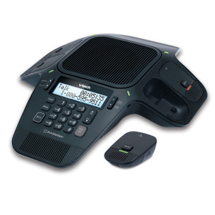 VCS704 Vtech Conference Phone 2 Fixed Micrphone & 4 DECT Wireless Microphones