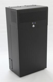 MINIRAQ 10U 6U Vertical + 4U Horizontal Secured Racking System
