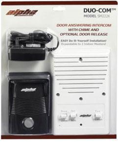 Duo-Com 2 Wire Single Unit Entry Intercom System