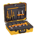 13 Piece Professional Insulated Utility Tool Kit Screwdrivers Pliers Hard Carry Case