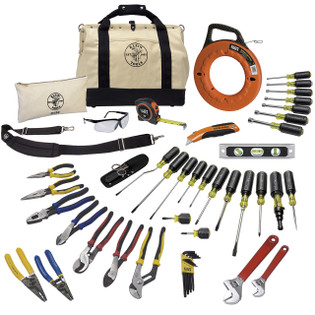 41 Piece Journeyman Tool Set Starter Kit for the Professional