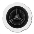 "8"" 2 Way Coaxial Ceiling Infinite Baffle Loudspeaker Woven Carbon Fiber Pair CS804FL"