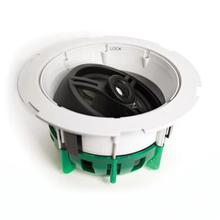 "6.5"" 2-Way In-Ceiling Coaxial Infinite Baffle Loudspeaker FastLoc Grill FIT651FL"