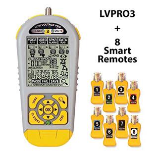 LVPRO3SR Low Voltage Speaker Coax Data Comprehensive Testing Tool Deluxe