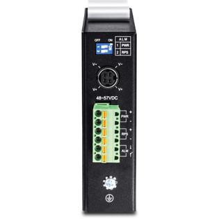 6 Port Hardened Industrial Gigabit PoE+ DIN Rail Layer 2 Managed Switch