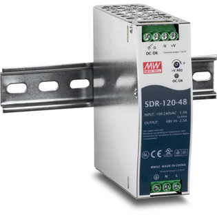 TI-S12048 120 W Single Output Industrial DIN Rail Power Supply