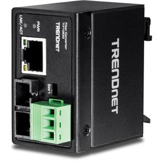 TI-F10S30 Industrial SM SC Fiber Converter 30KM
