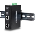 Industrial IP30 Hardened Gigabit POE+ Injector