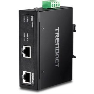 Industrial IP30 Hardened Gigabit POE+ Injector 60 Watt TI-IG60