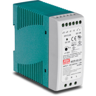 60 Watt Single Output Industrial DIN-Rail Power Supply