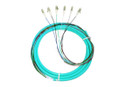 6S MM OM3 Fiber Optic Pigtail 3M LC 10 GIG