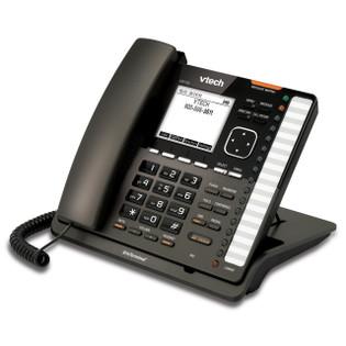 Vtech VSP735 Eris SIP Desk Terminal POE 32 Button 80-8475-00