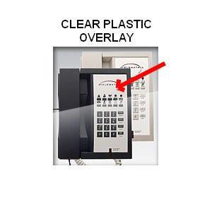 Telematrix 3300 Clear Plastic Overlays 25 Per Pack