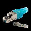 10G Pro Grade RJ45 Field Termination Modular Plug CAT6A CAT7