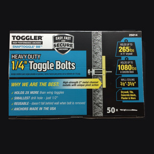 "50 TOGGLER 1/4"" Snaptoggle Only 25014 221-126"