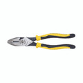 Klein 9'' Journeyman Connector Crimping Pliers Side Cutting J213-9NECR