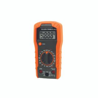 Klein Digital Multimeter, Manual-Ranging, 600V MM300