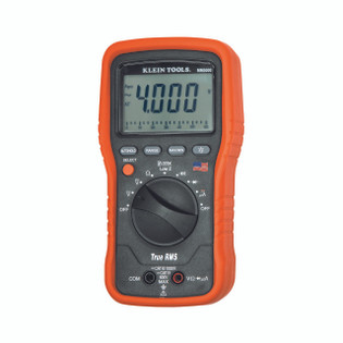 Klein Electricians TRMS Multimeter NIST Cert MM5000N