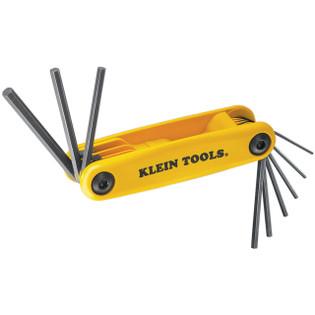 Klein Grip-It® Nine Key Hex Set Square Cut 70575