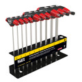 Klein T-Handle Set with Stand, SAE, 6'' Blade 10 Pc JTH610E