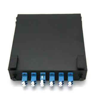 12 Port Duplex LC 50/125 MM Mini Wall Mount Fiber Panel