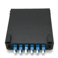 12 Port Duplex LC 50/125 MM Mini Wall Mount Fiber Panel