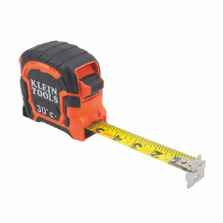 Klein 30' Double Hook Magnetic Tape Measure 86230