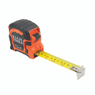 Klein 7.5 M Double Hook Magnetic Tape Measure 86375