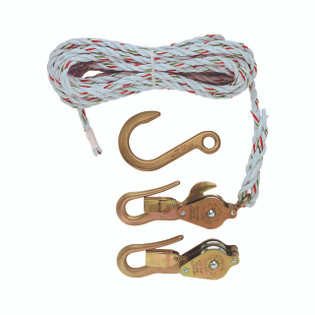 Klein Block and Tackle with Guarded Snap/Hooks H1802-30SSR