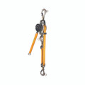 Klein Web-Strap Ratchet Hoist with Hot Rings KN1500PEXH