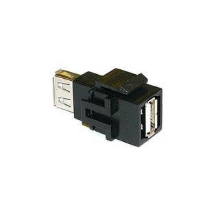Keystone USB Pass Thru Insert