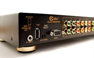 SW204HD Four by Two Matrix HD Switcher w/Digital Audio