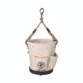 Klein Heavy Duty Tapered Wall Bucket 4 Pockets 5171PS