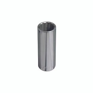 Klein 1/2'' Deep 12-Point Socket - 1/2'' Drive 65825
