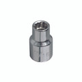 Klein 7/16'' Std 12-Point Socket - 1/2'' Drive 65800