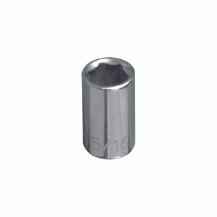 Klein 3/16'' Std 6-Point Socket - 1/4'' Drive 65600
