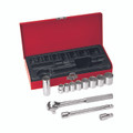 Klein 3/8'' Drive Socket Wrench Set, 12 Pc 65504