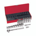 Klein 3/8'' Drive Socket Wrench Set, 20 Pc 65508