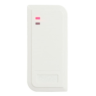 Access Control Outdoor IP66 Card Reader Compatible Wiegand 26 Bit Only WHite