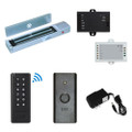 Wireless 2.4Ghz RF Indoor Access Control Kit Outswinging Door 600lb.