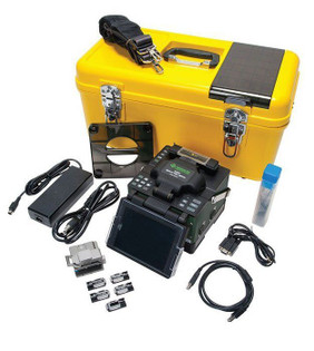 910FS-KIT1 Greenlee Fusion Splicer and FIber Cleaver Kit 1