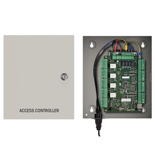 4 Door Access Control Panel Controller Board with Cabinet TCP/IP Network