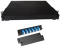 Fiber Rackmount Panel Front Panel Covered 12 LC SM