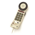 One-Piece Telephone with Extra Large On/Off Push Button