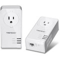 Trendnet TPL-421E2K Powerline Networking over Electrical Lines with Outlet Kit