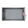 "Intellinet 714433 19"" Two Bolt High Security Wallmount Cabinet 6U"