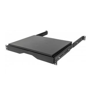 Intellinet 714709 Sliding Rotating 4 Post Shelf