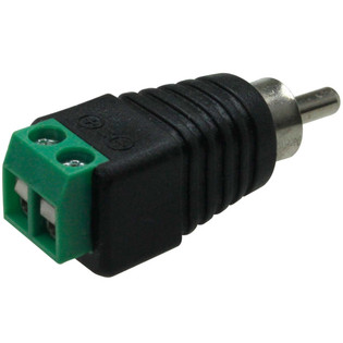 Newtech 318-160 RCA Male Plug Wire Terminal Adapter